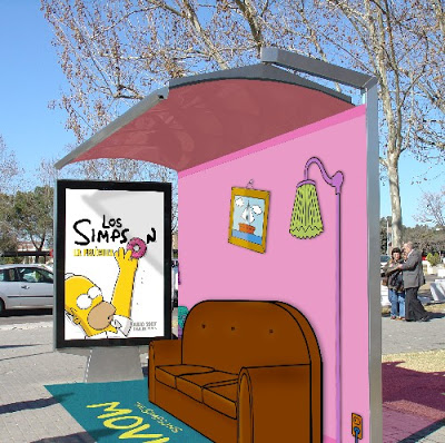 Street marketing: Simpson