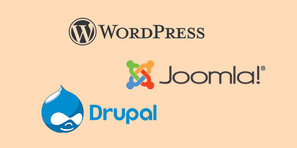 Wordpress, Joomla, Drupal